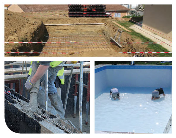 construction piscine angers